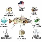 Robotic Electronic Fishing Lure For Bass Pike Musky Northern Pike Lures Muskie