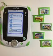 Leapfrog Leappad 1 Tablet Tested/reset Works Well With Stylus And 5 Games