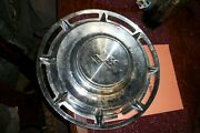 Vintage 1960and039s Chevrolet Corvette Impala Ss Stainless Steel Hubcap