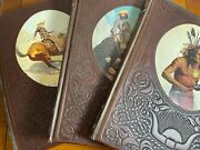 The Old West Time Life 3 Books 1973, The Indians, The Trail Blazers, The Cowboys