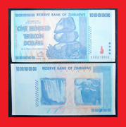Zimbabwe 100 Trillion Dollars Free Priority 2-3 Day Shipping Over 50 In Stock