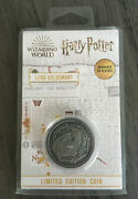 Harry Potter Wizarding World Limited Edition Lord Voldemort Coin Numbered