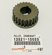 New Genuine For Toyota 93-95 Corolla Celica Crankshaft Timing Pulley 13521-15020