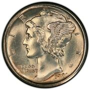 1920 D Winged Liberty Head Murcury Dime 10 Cents