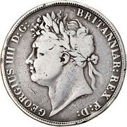 [906436] Coin, Great Britain, George Iv, Crown, 1821, London, Vf20-25