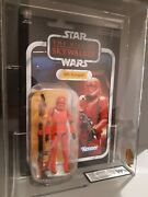 Star Wars Sith Trooper Ukg 90 Gold Carded Vintage Collection Vc162