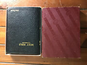 Vintage Holy Bible Concordance Red Letter Edition King James Version World Boxed