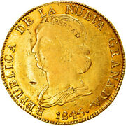 [905559] Coin Colombia 16 Pesos Diez I Seis 1845 Popayan Gold Km94.2