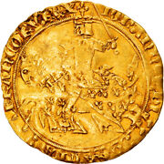 [906432] Coin France Jean Ii Le Bon Franc Andagrave Cheval Gold Duplessy294