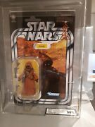 Star Wars Jawa Ukg 90 Gold Carded Vintage Collection Vc161