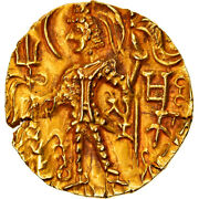 [906273] Coin Kushan Empire Shaka Stater 300-330 Au50-53 Gold