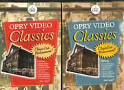 Time Life Grand Ole Opry Video Classics Vol 1 And 2 Dvd Box Set Live Country Music