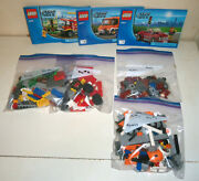 Lego City Sets 60017 And 4208 Complete With Figures And Manuals