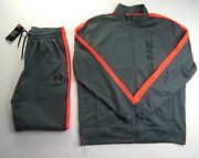 Under Armour Menand039s Unstoppable Track Jacket And Jogger Pants Set New Nwt