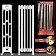 The Mayfair 4 Column 960mm High Cast Iron Radiators 3 To 40 Sections Wide