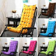 Home Rocking Chair Cushion Thick Comfortable Solid Color Deck Seat Pad Cushions