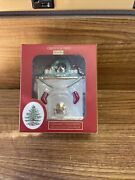Spode Christmas Tree Ornament Our First Home 2020 Fireplace Love Marraige