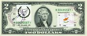 2 Dollars 2009 Star Stamp Cancel Postal Flag From Cuprus Value 500