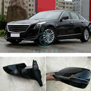 For Cadillac Ct6 Car Outside Left And Right Rear View Mirror Cover Assembly High