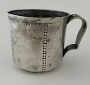 Vintage Signed William Spratling Taxco Mexico Sterling Silver Baby Cup 104g