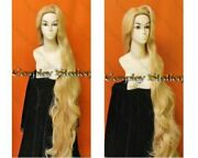 Rapunzel Custom Styled Long Blonde Curly Wig 200cm 80 Inches