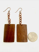 Lance Straughn Chickasaw Indian Artist Earrings