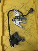 2005 Yamaha Yzfr6s Rr Front Foot Peg Bracket/ Caliper And Master Cylinder Assy Oem
