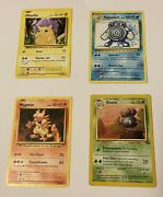 Pokemon Cards Lot Of 23 1995 2012-2020 Ex Gx Halographic Rare Collectors Antique