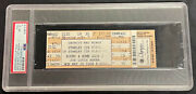 2008 Stanley Cup Finals Game 2 Ticket Penguins Red Wings Psa Nm-mint 8 Grade