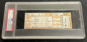 2008 Stanley Cup Finals Game 2 Ticket Penguins Red Wings Psa Excellent 5 Grade