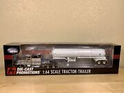 Dcp 1/64 Peterbilt 379 Agri Chem With Anhydrous Tanker Semi Truck Set Farm Toy