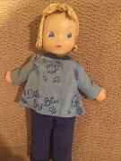 Ideal Doll Vintage 1939-1942 Composition And Soft Body, Little Boy Blue Rare