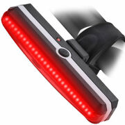 400pcs Rechargeable Bicycle Tail Light Rear Led Helmet Cycling Safe Flashlight