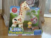 Fisher Price Little People Giraffe With Sounds Nib