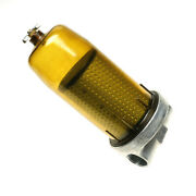 496 Fuel Tank Filter With 1andrdquo Npt Top Cap Assembly For Gasoline Diesel 17 Micron