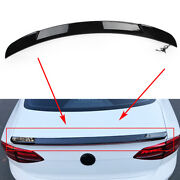 Streamer Function Rear Tail Trunk Spoiler Wing Lip For 12-18 Mazda Axela Abs
