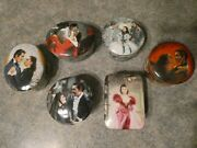 Gone With The Wind Music Boxes Complete Set Wl George All 6 Music Boxes