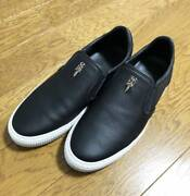 Chrome Hearts Authentic 18aw Cross Patch Dagger Slip-on Size 40 Black Menand039s