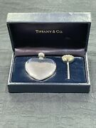 Mint Vintage And Co. Sterling Silver Heart Perfume Flacon Bottle Funnel