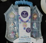 New Disney Frozen 2 Necklace Charms Jewelry Activity Set New Sealed