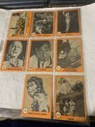 Lot Of 10 Nu-card Orange Horror Monster Cards Non-sports Cards. Free Us Shipping