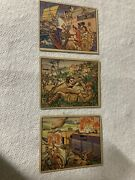 Lot Of 3 Gum Inc Horrors Of War 's 49, 104, 215 Non-sports Cards Free Us Ship