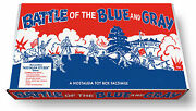 Marx Battle Of The Blue And Gray Play Set Box