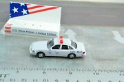 Busch 49087 Ford Crown Victoria Rhode Island State Police Ho Scale -187
