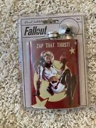 Fallout Nuka Cola 8 Oz Flask Brand New Unopened