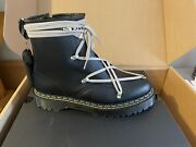 Rick Owens Doc Martens 1460 Bex Leather Lace Up Boots Size 9.5m In Hand