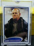 Wwe Smack Down Topps Vault Blank Back And039d 1/1 Undertaker Card