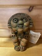 Dominican Republic Clay Cultural Figure Hand Made