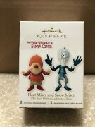 2012 Hallmark Heat Miser Snow Miser The Year Without A Santa Claus Ornament Save