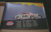 Coors 1981 Racing Team Poster Crc Chemicals Trans-am Championship